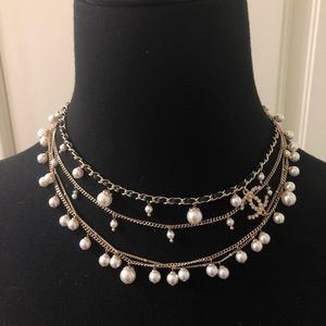 Chanel NWT 2018 Multi-Strand Statement Necklace